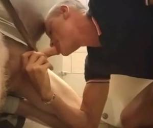 cock sucking in the toilets